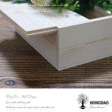 Hongdaoのカスタム簡単な木の滑走のふたボックス価格の卸売の_E