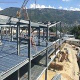 Materiale da costruzione della struttura d'acciaio di Prefabric per costruire impianto di lavorazione