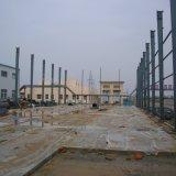 Vorfabrizierte angestrichene helle Stahlkonstruktion-Werkstatt mit kurzer Installations-Zeit