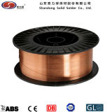 MIG alambre / cobre revestido de alambre de soldadura ER70S-6 CO2 Alambre de soldadura