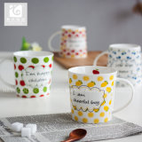 Estilo atractivo de las tazas de café de la porcelana de Liling