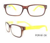 Óculos de plástico de injeção com lentes ópticas