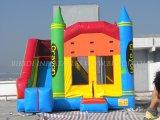 Zeichenstift-springendes Schloss, aufblasbares kombiniertes (B3058)