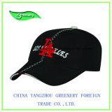 Выдвиженческая черная вышивка и крышка спорта печатание специальная