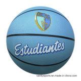 El tamaño de logotipo personalizado 5 de Baloncesto de goma