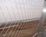 Rete del metallo della corda del filo di acciaio di Stainelss