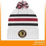 ロゴのジャカードそしてEmbrioderyによって編まれる帽子