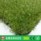 Зеленая дерновина лужайки и синтетическая трава для сада