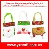クリスマスの装飾(ZY14Y497-1-2-3)のクリスマスのショッピング・バッグのクラフト