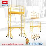 Meilleur Price Steel Used Folding Scaffolding à vendre