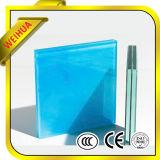 O vidro antiderrapante do assoalho, espaço livre moderou o vidro laminado do assoalho