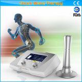 Sistema da onda de choque do tratamento do relevo de dor do uso da fisioterapia de Professonal