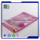 Bloqueo de OPP / PE material laminado de diapositivas Zip bolsa de plástico