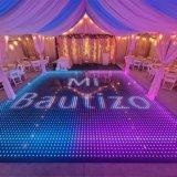 Moins cher Banquet magnétique sans fil Increative vidéo plancher de danse de LED pour Discowedding