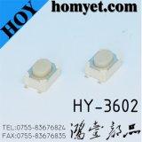Interruptor do tacto com Pin oval da tecla 4 de 4.2*4.2*2.5mm (SMD)