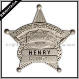 3D Building Metal Badge voor Decoration (byh-10329)