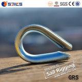 DIN6899Aのステンレス鋼ワイヤーロープの指ぬき