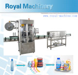 Máquina de etiquetado termal automática de la funda del encogimiento de la garantía global PVC/Pet