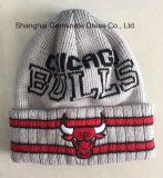 100%Acrylic Sport Club teje Hat (HJB106)