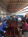 1045mm, 840mm PPGI couleur acier ondulé galvanisé recouvert de tôle de toit
