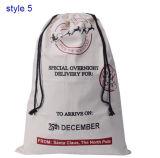 يشخّص عيد ميلاد المسيح نوع خيش حقيبة [إكسمس] تكّة كيس تخزين هبة حقائب