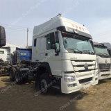 중국 견인 트럭 6*4 10 짐수레꾼 트럭 트랙터 트럭