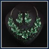 De nieuwe Reeks van de Juwelen van de Manier van de Halsband van de Oorring van de Bladeren van het Punt Epoxy