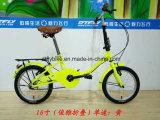 16inch складывая Bike, стальная рамка, одиночная скорость