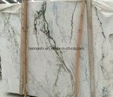 Сляб Calacatta белый мраморный для настила/стены, плиток, Countertop