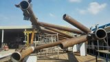 Stahl-CNC-Rohr-Plasma-Sauerstoff-Scherblock Beveler Maschine für Druckbehälter-Industrie Kr-Xy5
