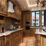 Surface en bois avec panneau de mélamine Meubles de maison Cabinet de cuisine