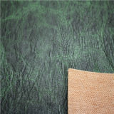 PU de alta qualidade sintéticos artificiais imitação de pele artificial Upholstery-Magma