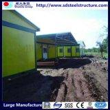 Casa prefabricada del bajo costo/hogar modular para Zimbabwe