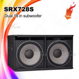 Subwoofer Neo Dual de 18 '' High Power Srx728s