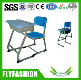 Madeira Mobiliário escolar estudo conjunto de mesa e cadeira (SF-60S)