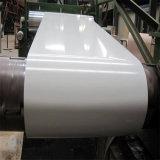 La couleur enduite d'une première couche de peinture a enduit les bobines en acier galvanisées