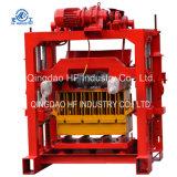 Machine de fabrication de brique concrète de bloc de presse de la main Qt4-35 de tigre manuel de machine