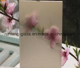 4 mm de ácido Prédio temperado temperado vidro gravado, vitrais