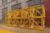 편평한 맨 위 탑 기중기 구조 강철 돛대 단면도/강철 플레이트 돛대 단면도