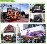 P10 a todo color en el exterior del módulo de pantalla LED para publicidad