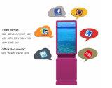 43、46、47、49、50、回転形、LCD表示のプレーヤーを広告する55インチ