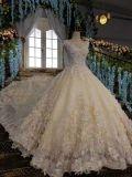 Роскошное платье венчания мантии шарика 3D