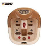Matériel de forme physique pour le vieux rouleau-masseur de malaxage profond électronique de pied de Shiatsu