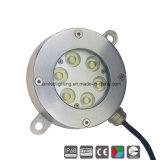 18W IP68 LED Unterwasserswimmingpool-Licht, Brunnen-Licht