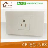 Sul - interruptor de tecla elétrico americano do interruptor da parede