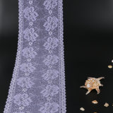Polyester-Gewebe-Lotos-rote Blumenspitze 100%