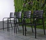 Cadeiras de pátio conjuntos de mesa de jantar Mesa de alumínio Tg-Hl808