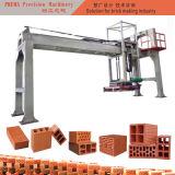 Máquina do tijolo da argila da máquina do ajuste do tijolo do verde do feixe horizontal