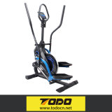 Vélo elliptique commercial de machine elliptique avec l'entraîneur en travers de roues