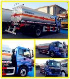 가솔린 Bowser Foton Auman 4*2 연료 탱크 트럭